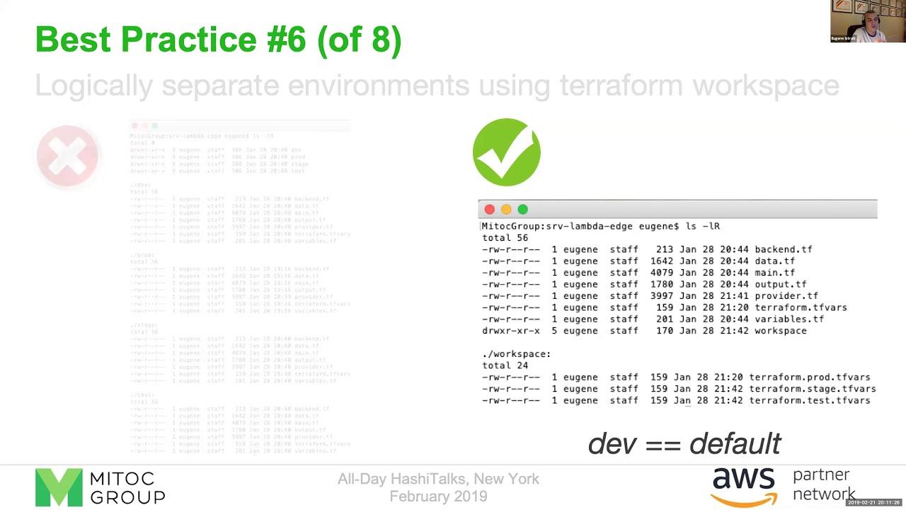 Terraform for Serverless: Best Practices, Lessons Learned