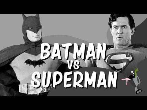 Batman vs Superman 40s Retro Style Trailer