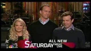SNL Promo - Peyton Manning 3/22/2007 #1