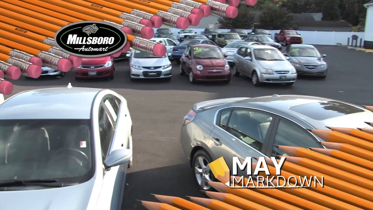 may markdown sales event at millsboro delaware premier used car and truck dealer youtube youtube
