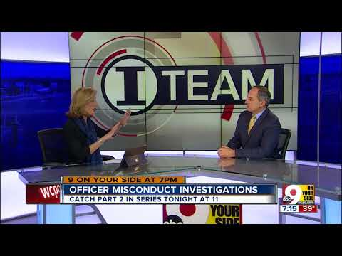 Craig Cheatham discusses officer misconduct investigation