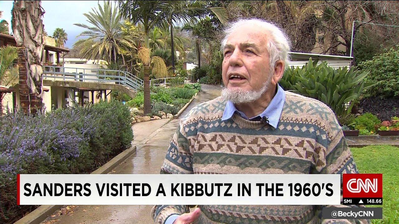 Image result for bernie sanders israel kibbutz