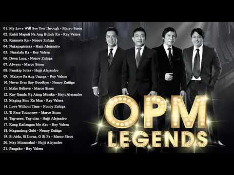 Rey Valera, Marco Sison, Nonoy Zuñiga, Hajji Alejandro Greatest Hits : OPM Love Songs Of All Time