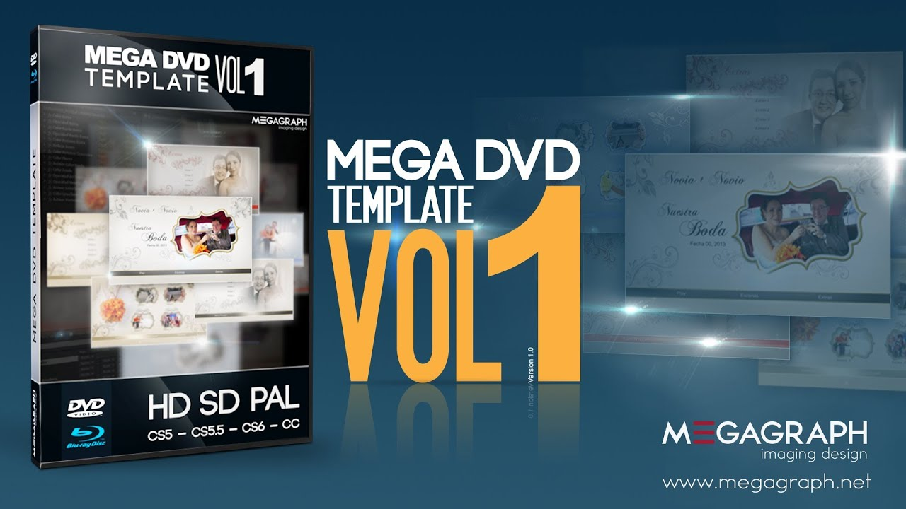 Plantilla para DVD - Blu-ray • NTSC - PAL - YouTube