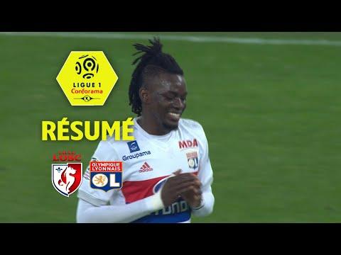 LOSC - Olympique Lyonnais (2-2)  - Résumé - (LOSC - OL) / 2017-18