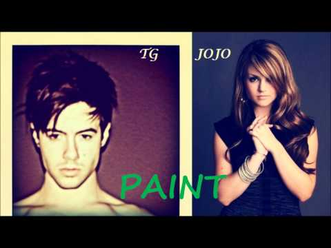 Travis Garland & JoJo ~ Paint (LYRICS)(New Song 2011)