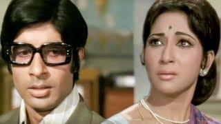 Amitabh Bachchan, Mala Sinha, Sanjog - Scene 16/28