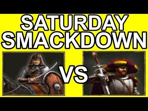AOE3: Saturday Smackdown: H2O vs Mitoe [Bo7 w/ Zuterjection]