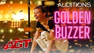 "America's Got Talent Golden Buzzer ""It's Okay"" sang by Jane Marczewski the Nightbird"