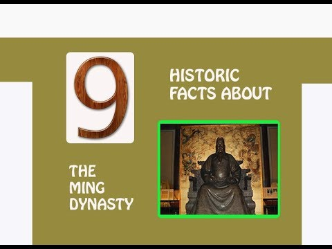 9 HISTORIC FACTS ABOUT THE MING DYNASTY