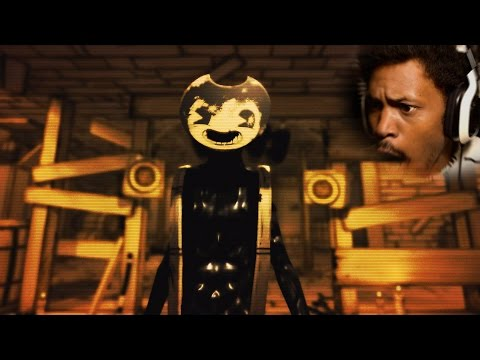 Thumbnail: WHOSE MANS IS THIS!? | Bendy and the Ink Machine: Chapter 2