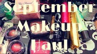 September Makeup Haul! Thumbnail