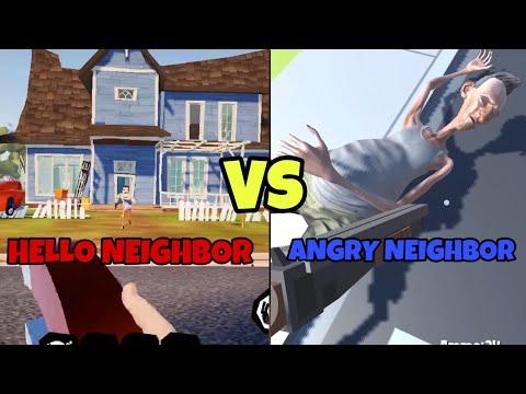 HELLO NEIGHBOR VS ANGRY NEIGHBOR |