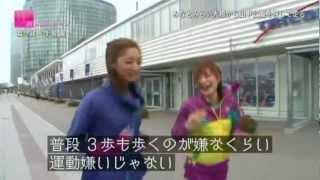 菜々緒 × 手島優のRUNガール 横浜みなとみらいを走る 手島優 動画 21