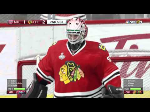 Montreal Canadiens season mode Ep: 16 Stanley Cup Finals Game 1