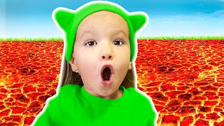 The Floor is lava + More Kids Songs by Tim and Essy