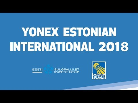 Finals - 2018 YONEX Estonian International