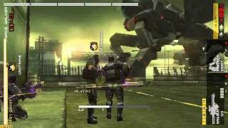 MGS: Peace Walker Co-Op Dual Railgun against Peace Walker