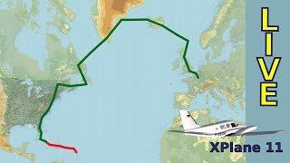 XPlane 11 - VFR #OukilèleRhum? - E19 Miami Vice-Camaguey BE58 - LIVE 2019.05.17