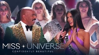 Gazini Ganados enters Top 20 of Miss Universe 2019 | Miss Universe 2019