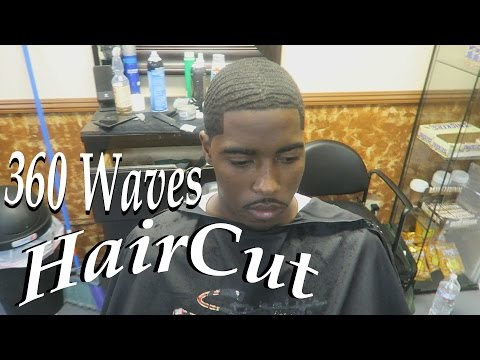 How To Get Your Haircut At The Barbershop For 360 Waves Youtube