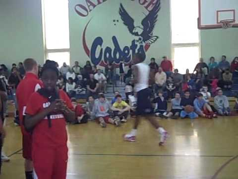 Oak Ridge Military Academy Slam Dunk Contest Pt. 3