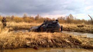 Копия видео Покатушки Нива-Шнива весна 2015 Артемовские луга