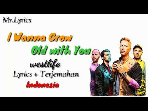 I Wanna Grow Old With You Animasi Lirik Dan Terjemahan | Westlife