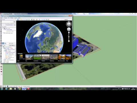 How to Place a Sketchup Model in Google Earth