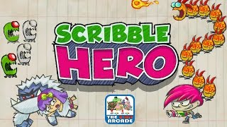 Scribble Hero: Chapter 2 - Invaders From Beyond The Stars (iPad Gameplay, Playthrough)