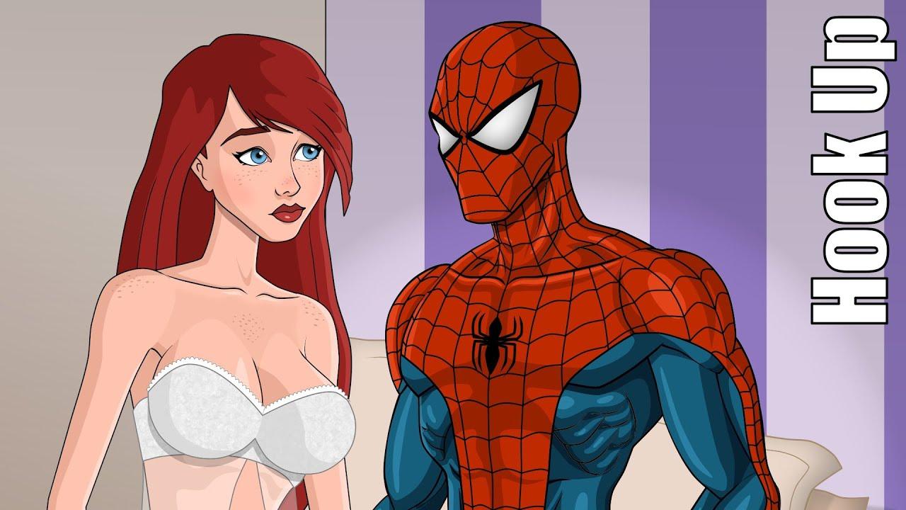 Spiderman hook up
