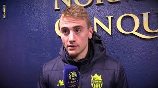 SM Caen - FC Nantes : la réaction des joueurs