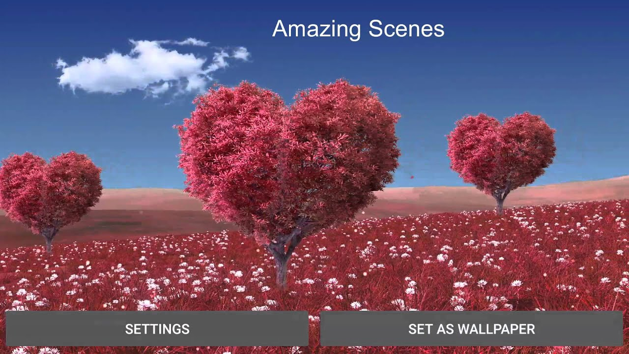 Autumn 3D Live Wallpapers