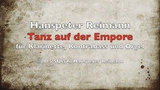 Tanz auf der Empore von Hanspeter Reimann
