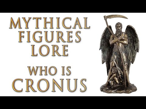 Mythical Figures Lore - Who Is Cronus? (Greek Mythology)