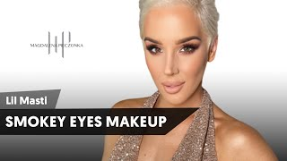 Smokey eyes makeup | Lil Masti x Pieczonka