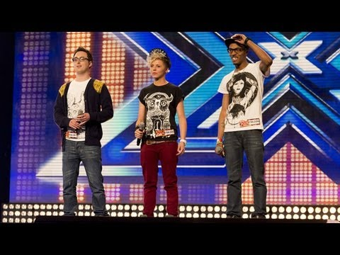MK1's audition - Written In The Stars / Read All About It Medley - The X Factor UK 2012