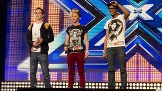 MK1's audition - Written In The Stars / Read All About It Medley - The X Factor UK 2012 thumbnail
