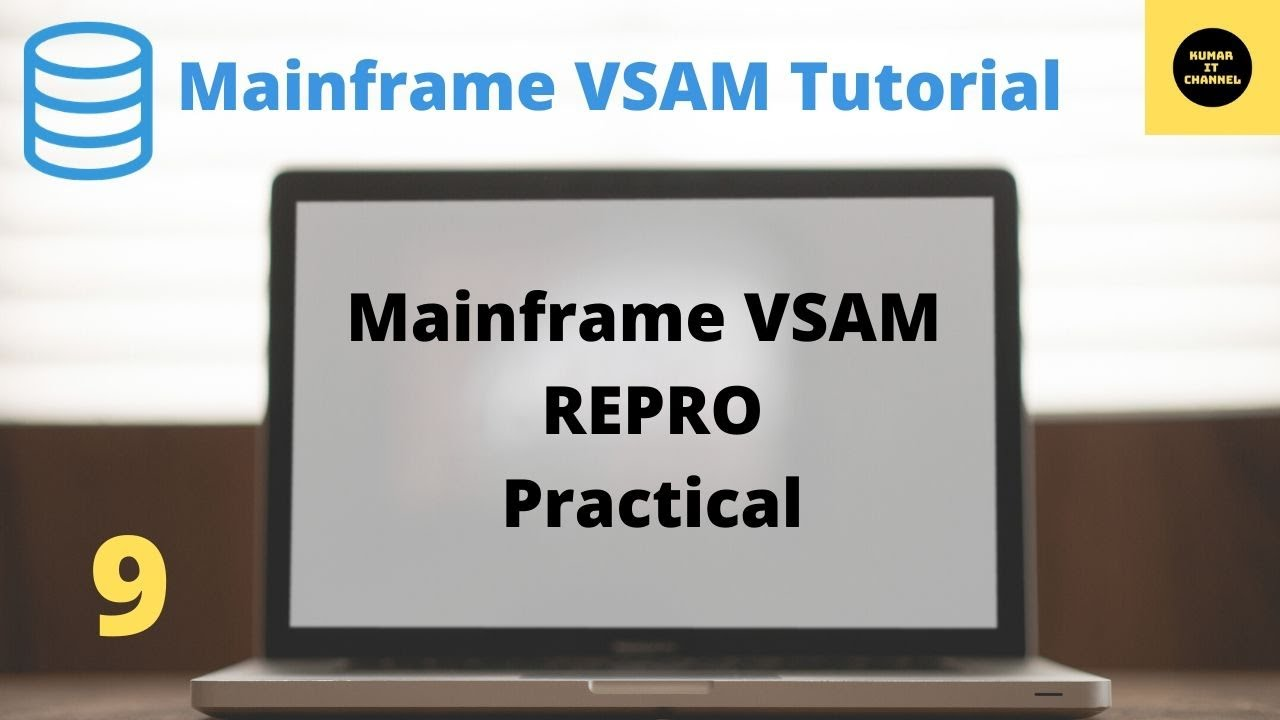 Mainframe VSAM - Importance of REPRO, practical video - 9 - YouTube