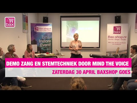 Demo: zang en stemtechniek door Mind the voice