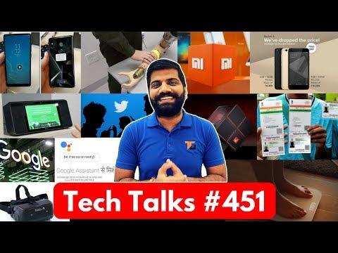 Tech Talks #451 - Aadhaar Data Illegal, Mi Mix 2S, AI Translation, Google Assistant Hindi, HP Omen X