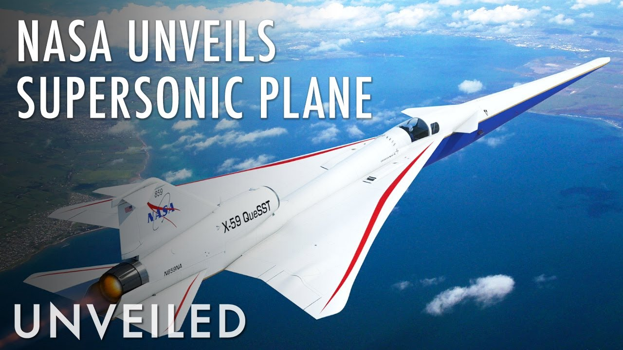 """Why Has NASA Built a """"Quiet Boom"""" Supersonic Plane? 