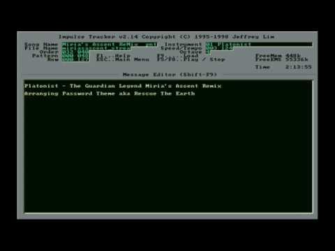 Platonist - The Guardian Legend Miria's Ascent Remix (Schism Tracker Video)