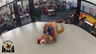 ME MMA 2018 KO FC 93 kg Grabowski P vs Trzciński M