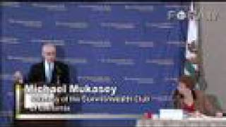 Attorney General Mukasey on Racial Profiling
