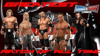The Greatest Elimination Chamber Match Ever Remake - WWE Smackdown VS Raw 2009