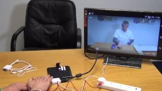 5 Pin Micro USB MHL to VGA Converter Cable