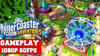 Rollercoaster Tycoon Adventures Gameplay (PC)