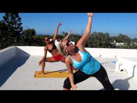 Yoga Flow in magical Santorini