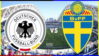 SVERIGE MOT VM-GULD | TYSKLAND - SVERIGE | Andra Matchen!